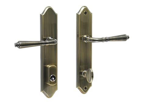 Bellagio by FPL- Solid Brass Entry Lever Set with Schlage Keyway for Left Hand Door  sc 1 st  Amazon.com & Bellagio by FPL- Solid Brass Entry Lever Set with Schlage Keyway ... pezcame.com