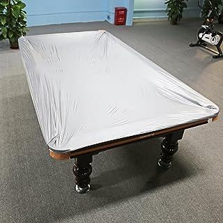 Zerone Tischabdeckung 2 Farben 8ft ausgestattet Snooker//Billardtisch Wasserdichter Staubschutz