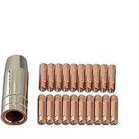 21 piezas MB 15 AK MAG Soplete de soldadura Consejos de contacto 140,0008 M6