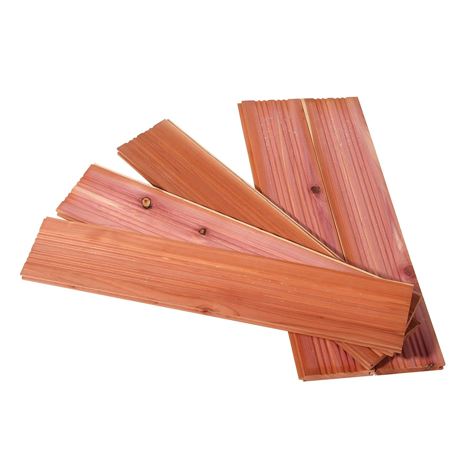 CedarFresh 25003-1 Interlocking Cedar Wood Plank Drawer Liners | Set of 5 Household Essentials