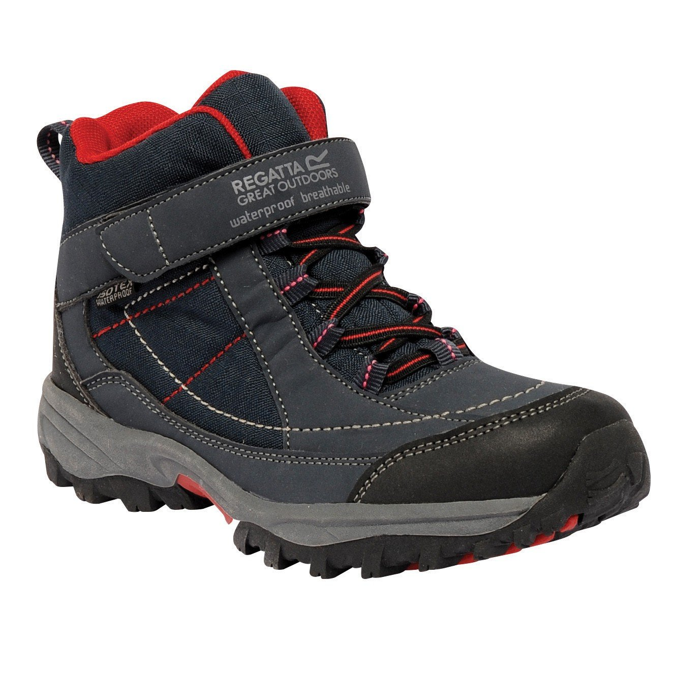 Regatta Great Outdoors Childrens/Youths Boys Trailspace Mid Junior Walking  Boots: Amazon.co.uk: Shoes & Bags