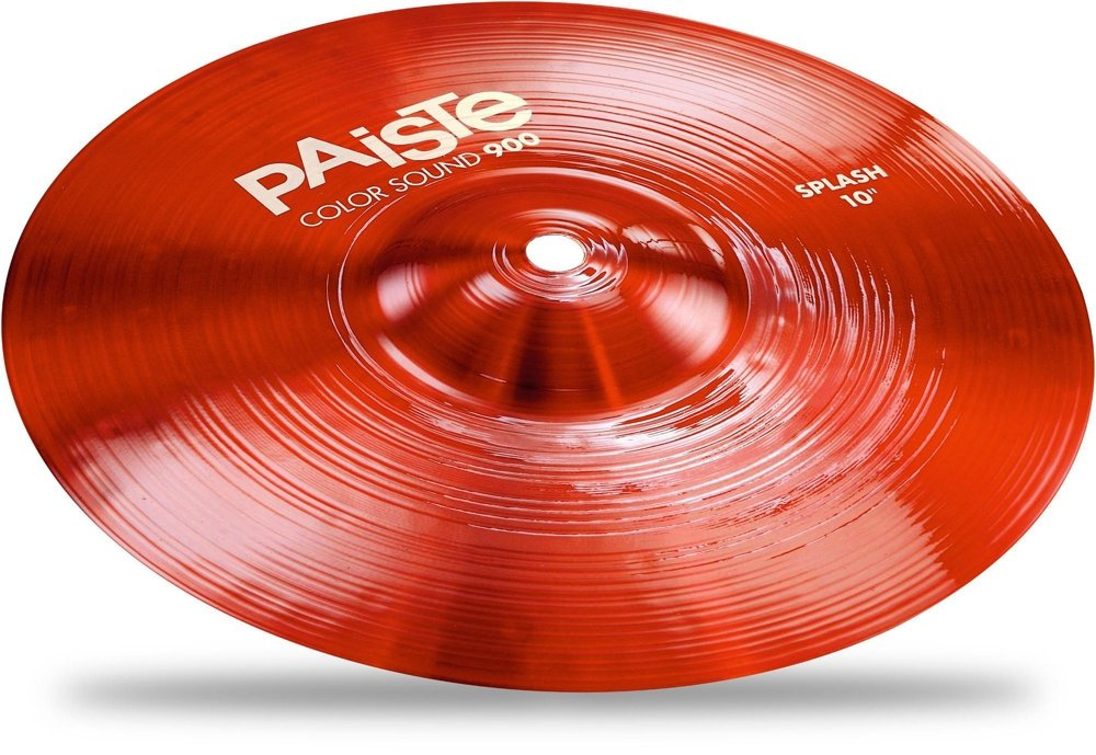 Paiste 10 Inches Color Sound 900 Red Splash Cymbal by Paiste