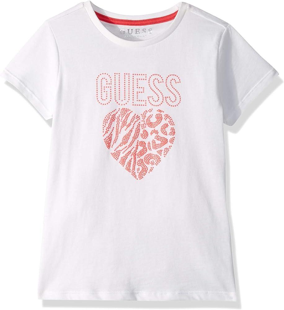 Guess SS T-Shirt Camiseta de Tirantes para Ni/ñas
