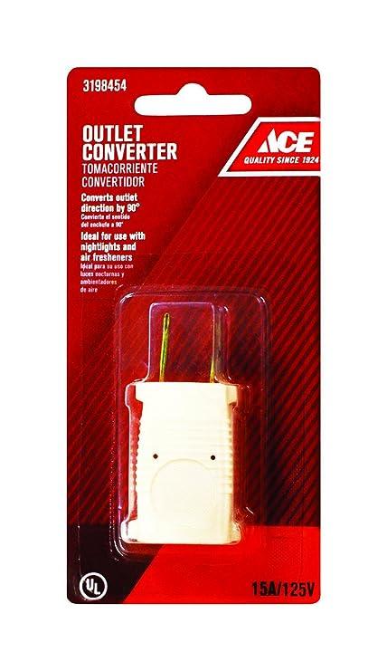 Ace Outlet Converter Fa 115 Plug Adapters Amazoncom