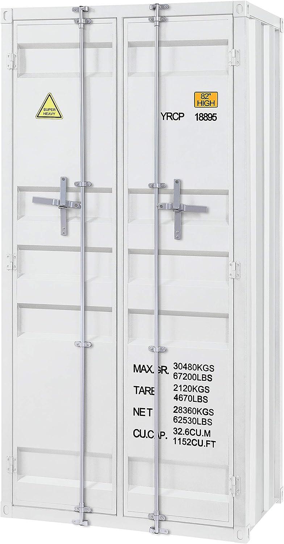 ACME Cargo Wardrobe (Double Door) - - White