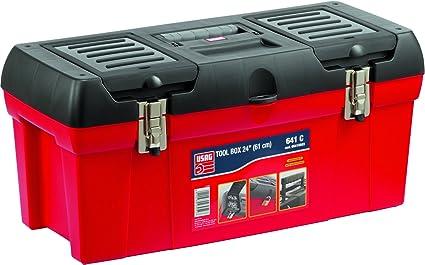 Usag u06410003 641 C Caja Herramientas 24 Pulgadas, vacía: Amazon.es: Bricolaje y herramientas