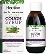 Herbion Naturals Ivy Leaf Syrup with Thyme and Licorice, Helps Maintain