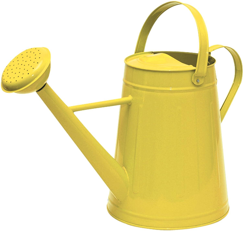 amazoncom tierra garden 36 5081y traditional watering can 21 gallon yellow garden outdoor