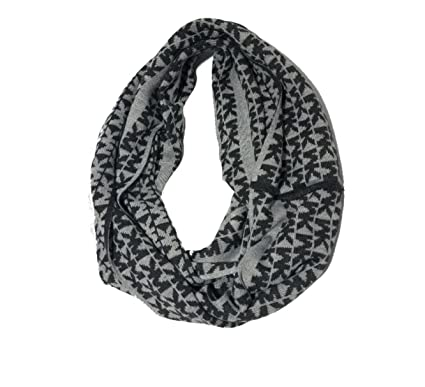 5a41e2cf72270 Michael Kors Women's Repeat Logo Infinity Scarf, Derby Grey at Amazon  Women's Clothing store: