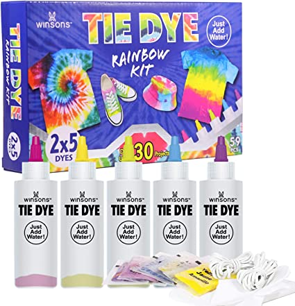 Winsons - Kit de pintura textil con tinte permanente, para ...