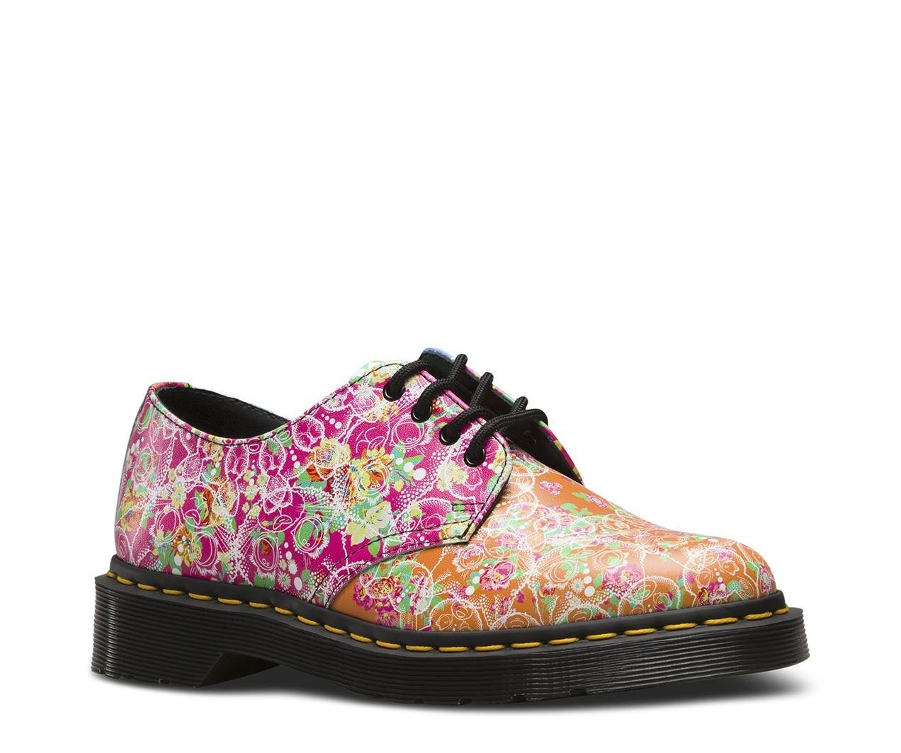 Dr.Martens Womens Smiths Daze Leather Shoes 36 EU Multi