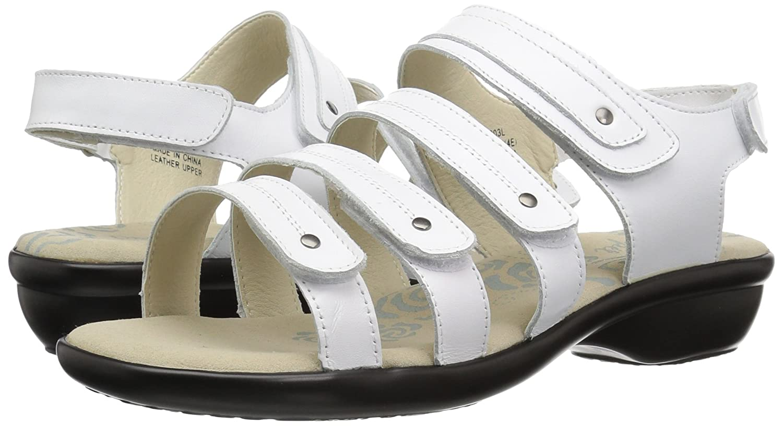 Propet B071W98BYN Women's Aurora Sandal B071W98BYN Propet 7.5 2E US|White 0df865