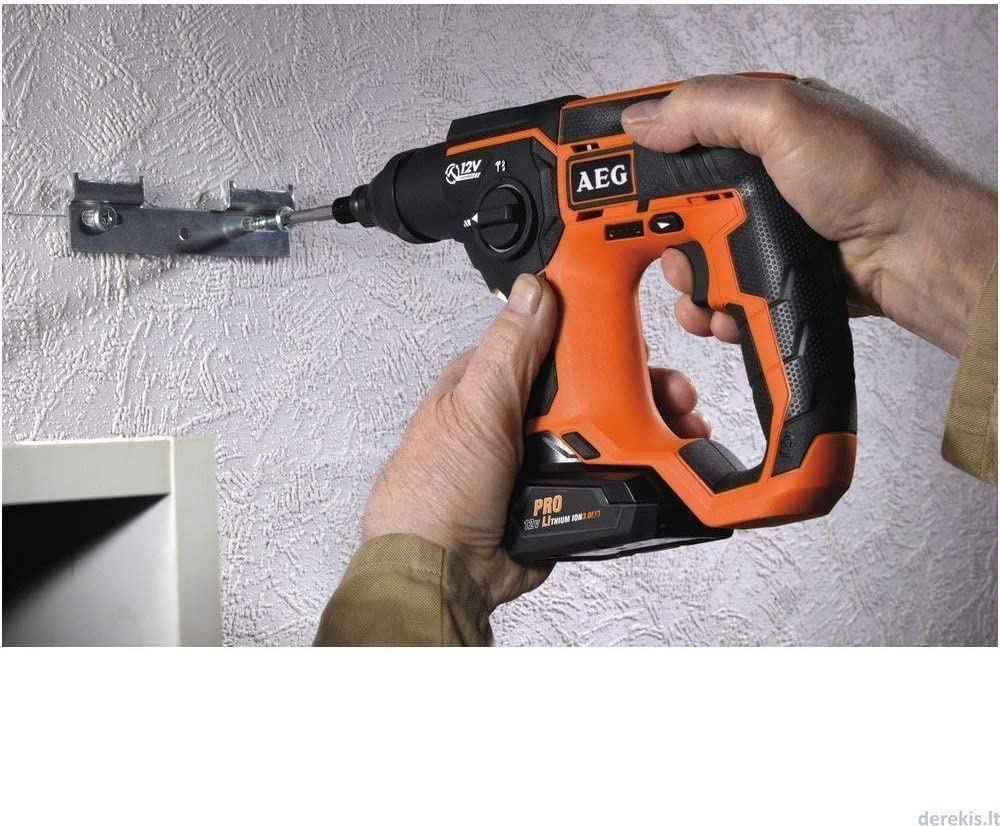 AEG Akku-Bohrhammer BBH 12//4 Ah 4935443991 1 St/ück