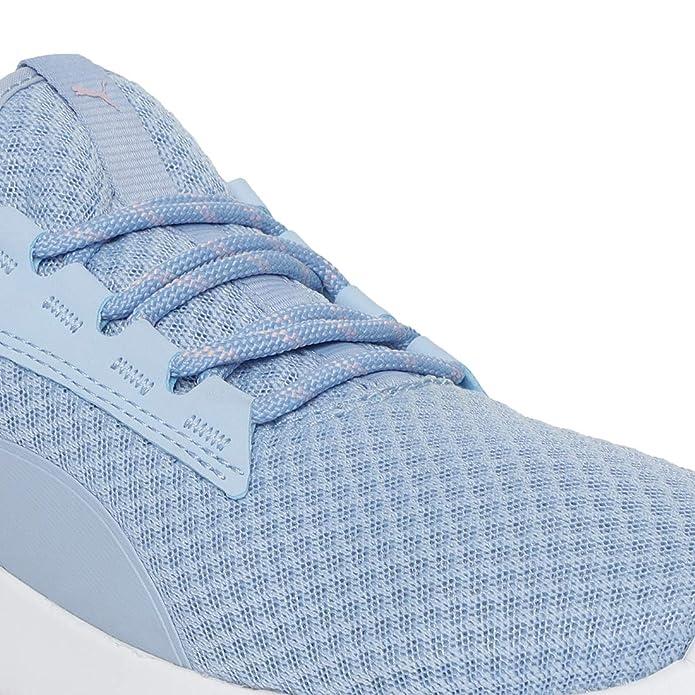 Puma Women's ST Trainer Evo v2 Cerulean White Mesh Shoes (3