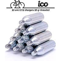 Impeccable Culinary Objects (ICO) ICOC1610T 16G Cartuchos de CO2 (10 Unidades)
