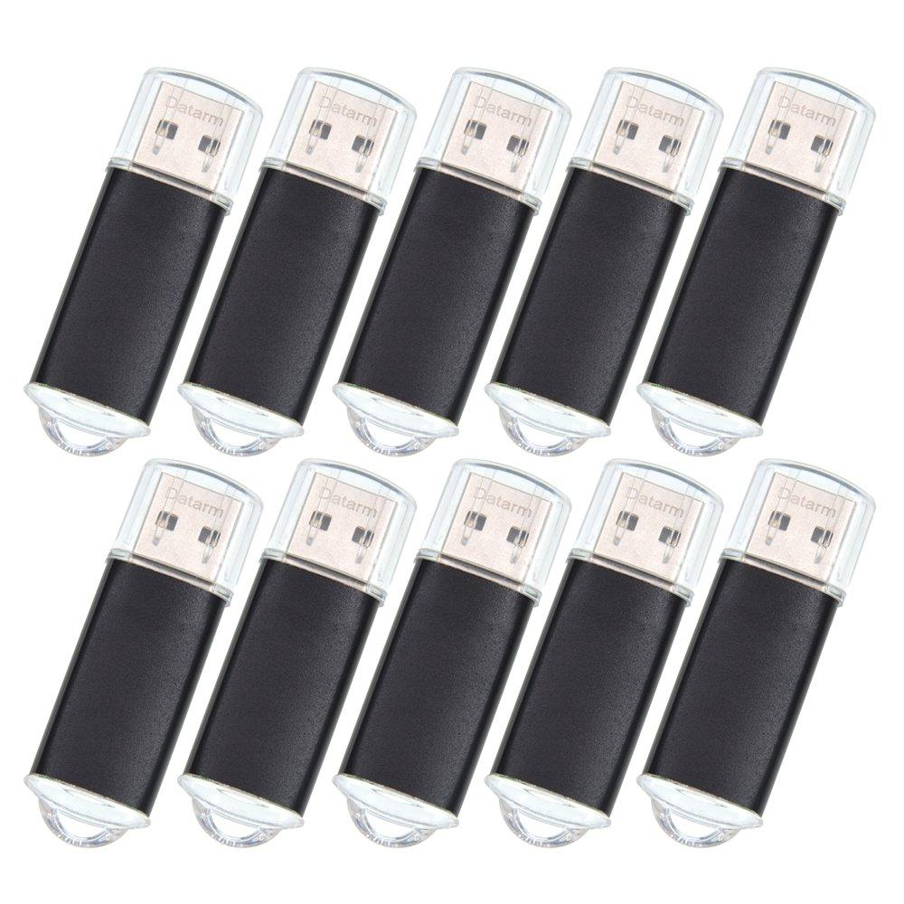 高価値 Datarm USB メモリ 黒 8GB - 100個 - USB B07C7FMS2G メモリースティック セット, USB メモリフラッシュドライブ (10色) B07C7FMS2G 黒 1GB 1GB|黒, kargie margie:2e7f9062 --- ballyshannonshow.com