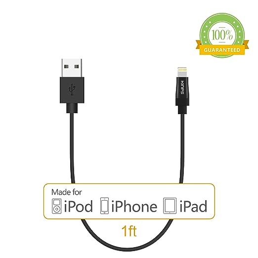 210 opinioni per [Certificato da Apple MFI] Kinps® Cavo da 30cm Lightning con 8 pin per caricare