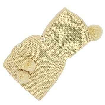 YOPINDO Baby Junge Mädchen Winter Hut Warme Weiche Gestrickte Wolle ...