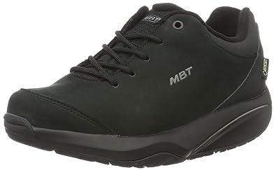 MBT Women s Amara 6S GTX Black Waterproof Nubuck 36 Medium fd2707f44