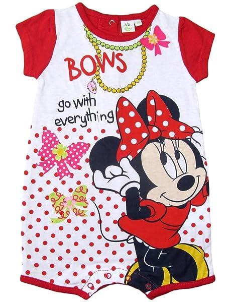 Minnie Mouse colección 2015 Strampelanzug 56 62 68 74 80 86 92 niña Mono corto para
