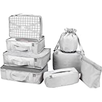 8-Pack Betllemory Latest Design Travel Luggage Packing Cubes Sets