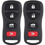 ECCPP 2 Keyless Entry Remote Control Car Key Fob Replacement for 2005-2014 Altima and Maxima KBRASTU15, CWTWB1U733