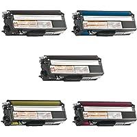 am-ink Compatible cartucho de tóner de repuesto para Brother TN315TN 315TN315BK TN310para Brother HL-4150CDN MFC-9970CDW HL-4570CDW MFC-9460CDN Printer series Impresora, 5-Pack: 2K1C1M1Y