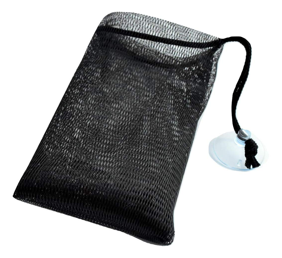 8PCS Bar Soap Saver Pouch for Shower - Bamboo Charcoal Infused Soap Mesh Bag. Soap on a Rope.