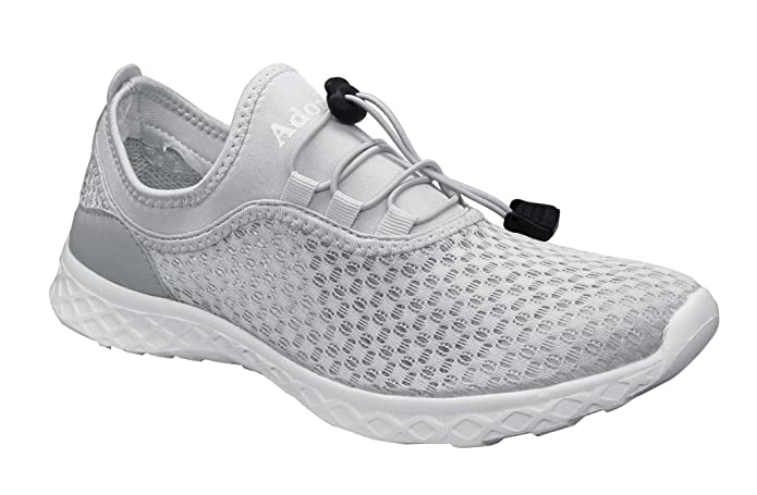 Amazon.com: Adorllya Water Shoes Women Men Mesh Aqua Shoes ...