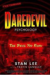 Daredevil Psychology: The Devil You Know (Popular Culture Psychology) Paperback