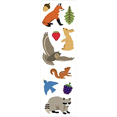 Mrs Grossman Forest Animals Stickers: Arts, Crafts & Sewing