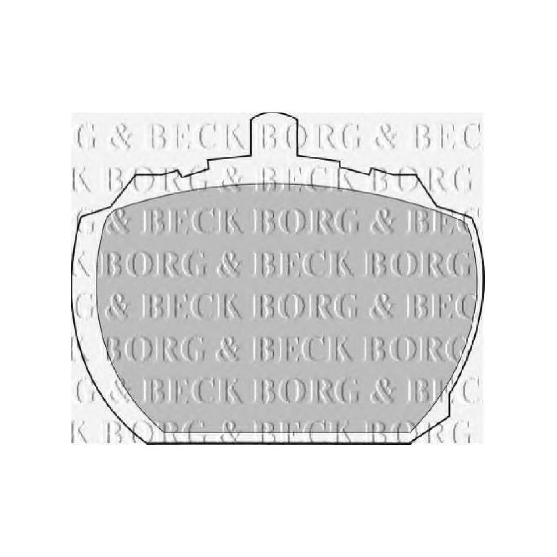 Borg /& Beck BBP1098 Kit de Patins de Frein
