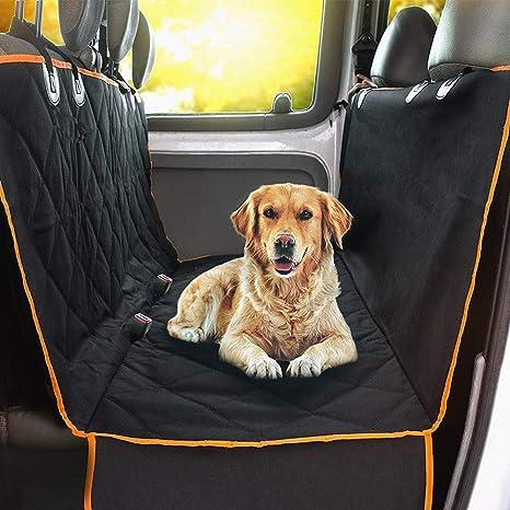 Perro del cojín del coche Cubierta de asiento impermeable ...