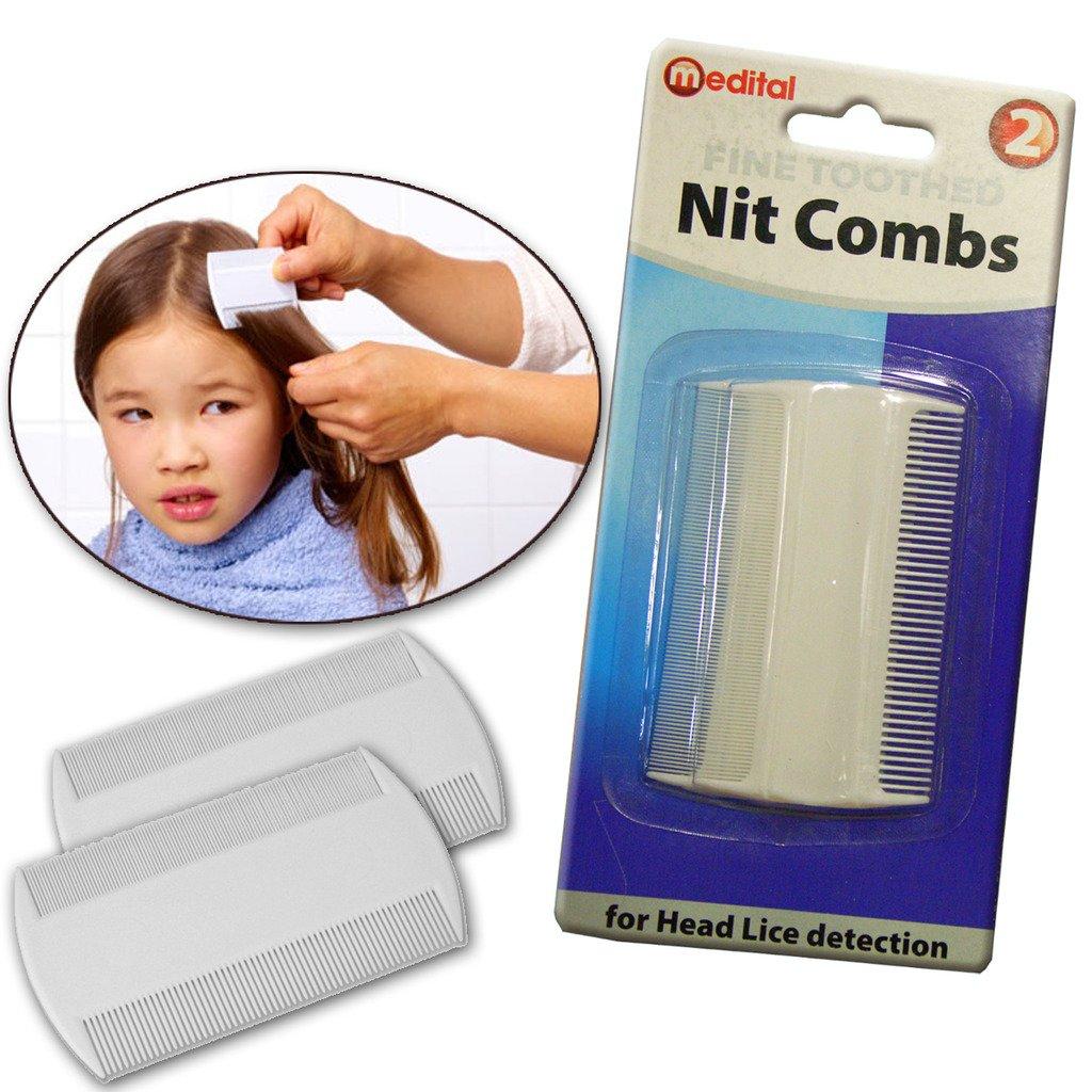 Hair Nit Comb Kids Adult Scalp Head Lice Eggs Cat Dog Pet Brush Insect Fleas Guaranteed4less DGI-0229