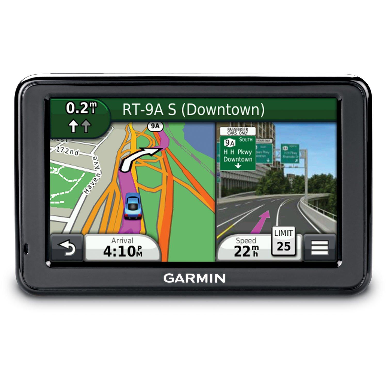 Amazon Com Garmin Nuvi Lmt  Inch Portable Gps Navigator With Lifetime Maps And Traffic Home Audio Theater