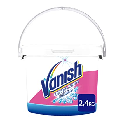 Vanish Oxi Action Crystal White Profesional Quitamanchas Polvo - 2,4 kg