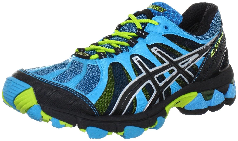 ASICS Womens GEL FUJISENSOR GTX Running Shoes blue blue Size