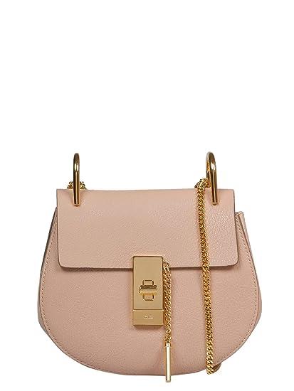 Chloé Women s Chc14ws0329446j5 Pink Leather Shoulder Bag  Amazon.co.uk   Clothing 124efc9bd8