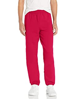 Hanes Big Girls Comfortsoft Ecosmart Open Bottom Fleece Sweatpant/_Navy/_L