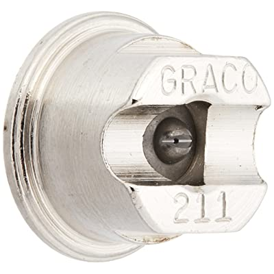 Graco 269211 Contractor Flat Tip for Airless Paint Spray Guns with 0.011-Inch Diameter and 4-Inch Fan: Home Improvement