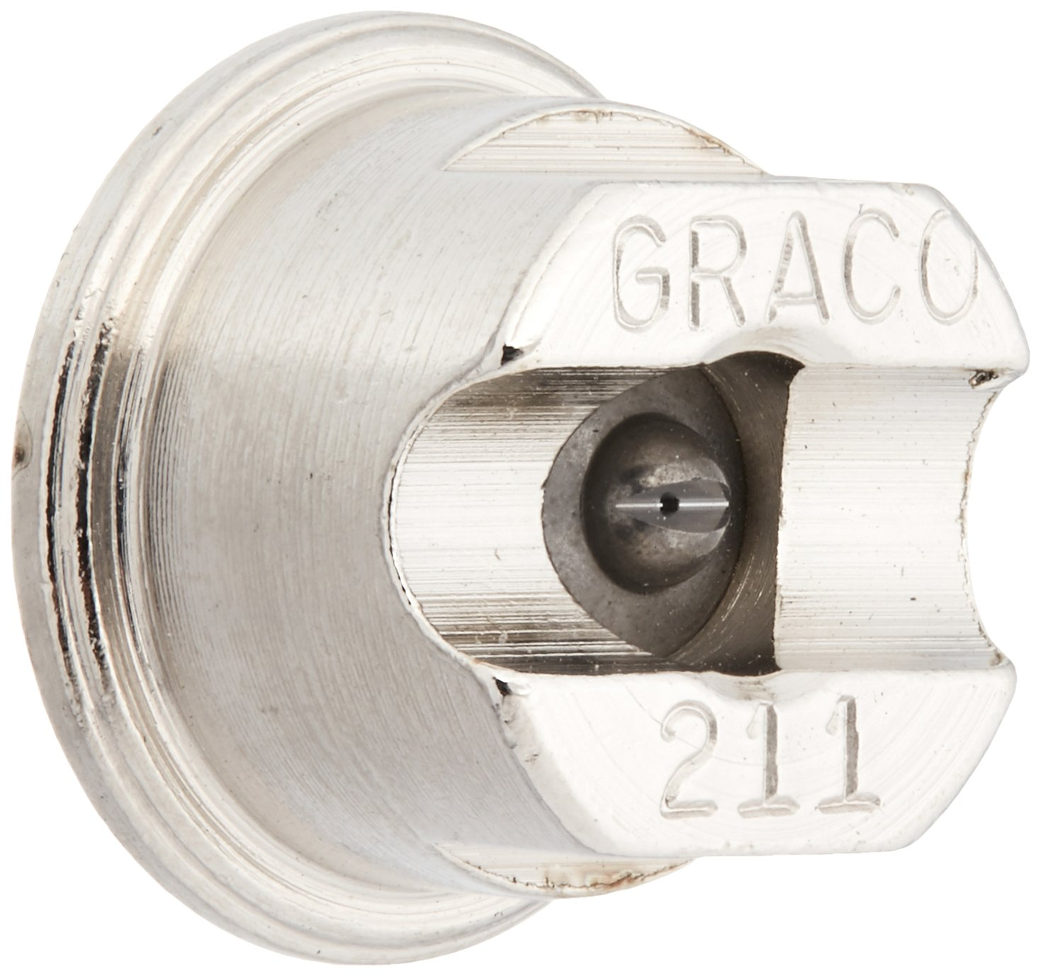 Graco 269211 Contractor Flat Tip for Airless Paint Spray Guns with 0.011-Inch Diameter and 4-Inch Fan Paint Sundries Solutions