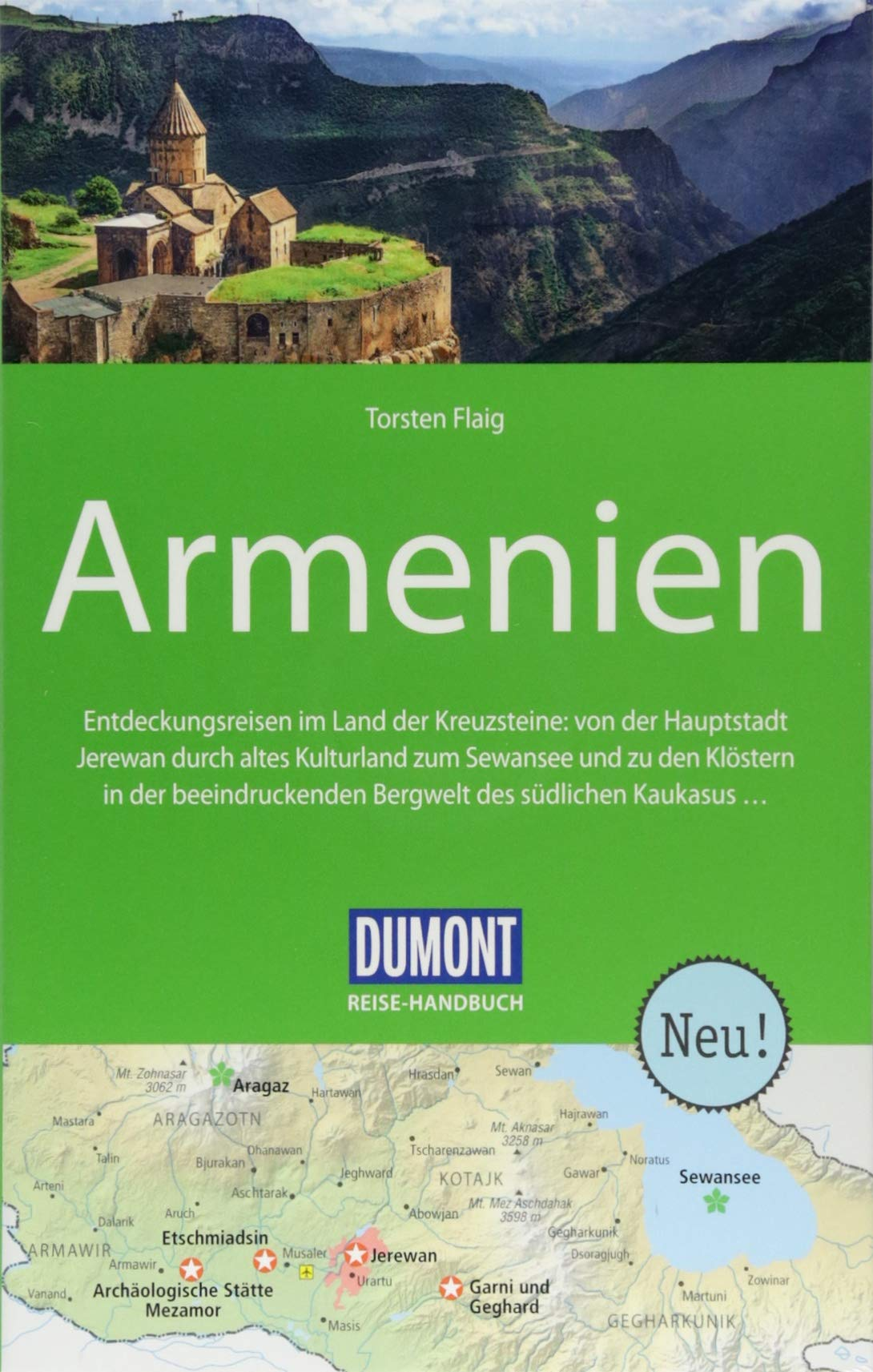 DuMont Reise-Handbuch Reiseführer Armenien: mit Extra-Reisekarte