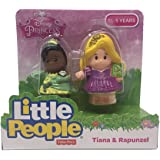 Fisher-Price Little People Disney 2 Pack: Rapunzel & Tiana