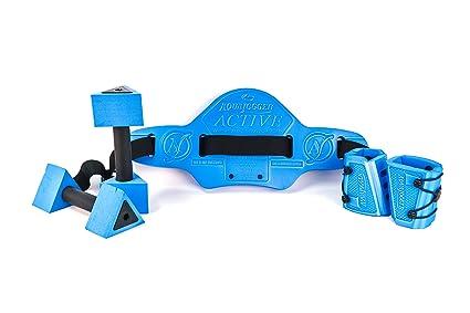 Fitness & Jogging Blue Ausdauertraining Aquajogger Active Value Pack