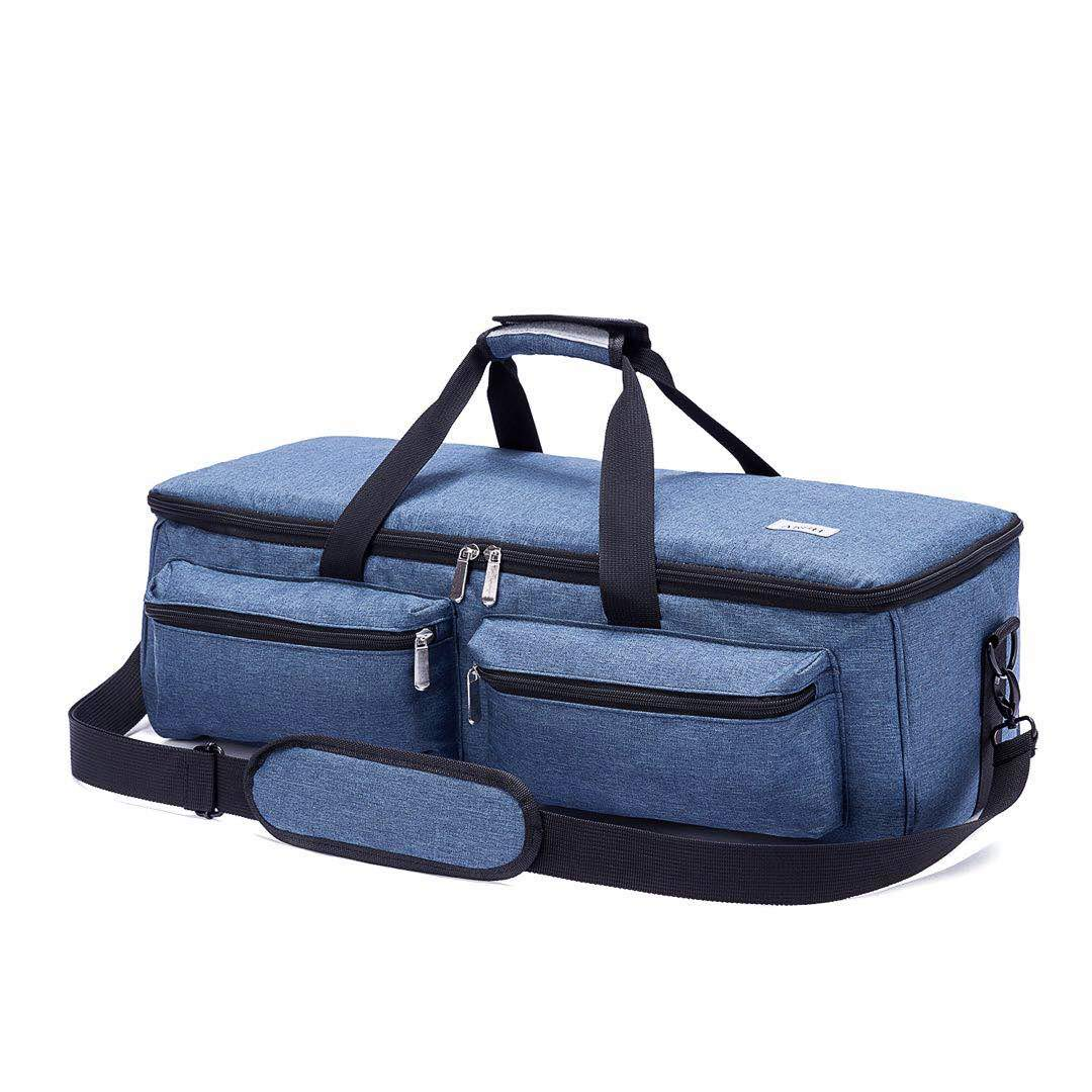 ARSH Carrying Bag Compatible with Cricut Maker, Tote Bag Compatible with Cricut Explore Air 2, Supplies and Accessories (Blue)
