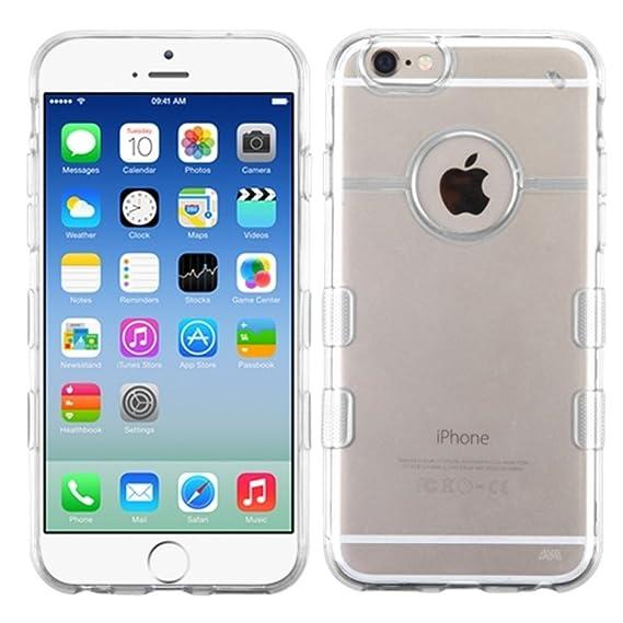 Amazon.com: MyBat APPLE iPhone 6 Gummy Cover - Retail ...
