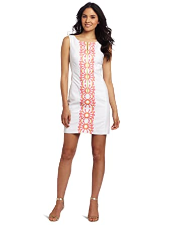 9fbe273376ec5e Lilly Pulitzer Women's Kolby Shift Dress at Amazon Women's Clothing store: