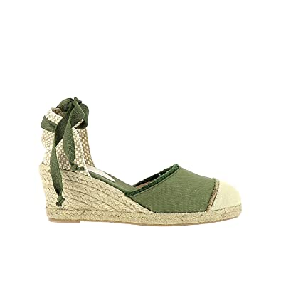 Elizabeth Stuart VOLTY 820 NOIR/ECRU - Chaussures Espadrilles Femme