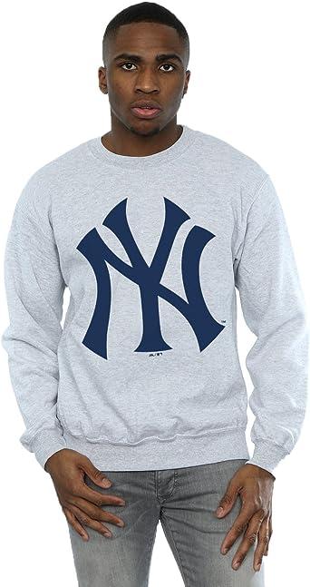 Majestic hombre MLB New York Yankees Logo Camisa de ...