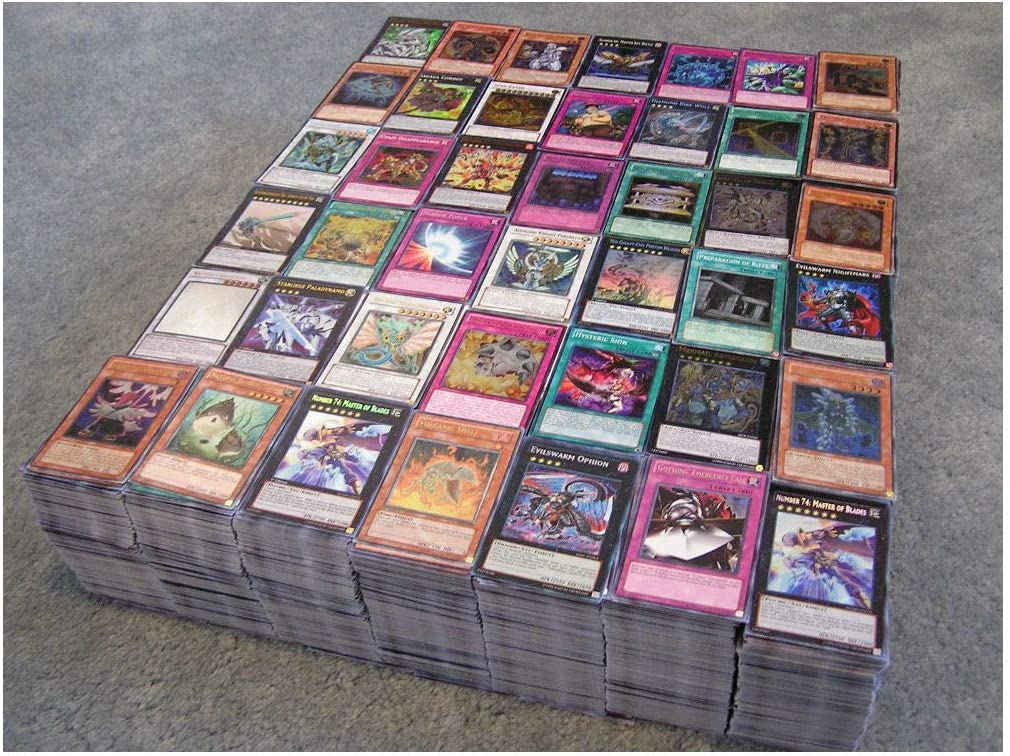 100 YuGiOh Karten10 Booster PacksSammlung Collection Holo Foil Rare Cards!